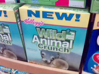 Wild Animal Crunch cereal