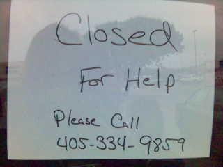 Closedforhelp
