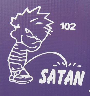 Calvin vs. Satan